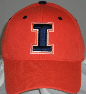Illinois Fighting Illini Team Color One Fit Hat