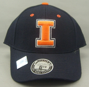 Illinois Fighting Illini Dynasty Fitted Hat
