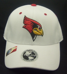 Illinois State Redbirds White One Fit Hat