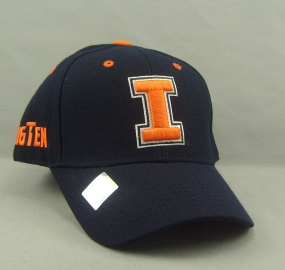 Illinois Fighting Illini Adjustable Hat