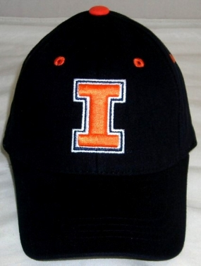 Illinois Fighting Illini Youth Team Color One Fit Hat