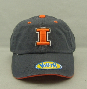 Illinois Fighting Illini Youth Crew Adjustable Hat