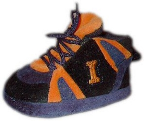 Illinois Fighting Illini Baby Slippers