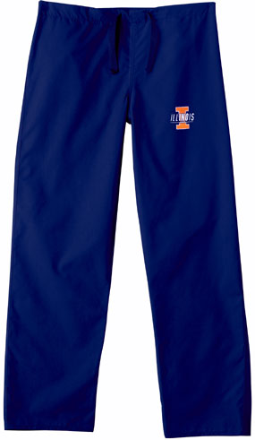 Illinois Fighting Illini Scrub Pants
