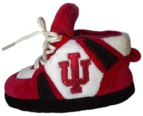 Indiana Hoosiers Baby Slippers