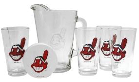 Cleveland Indians Pitcher Set