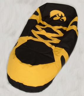 Iowa Hawkeyes Bean Bag Boot Slipper Chair