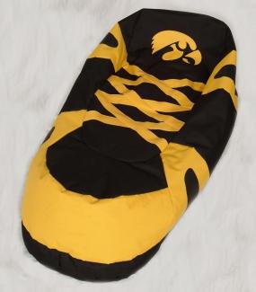 Iowa Hawkeyes Bean Bag Boot Slipper Chair