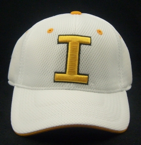 Iowa Hawkeyes White Elite One Fit Hat