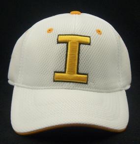 Iowa Hawkeyes White Elite One Fit Hat