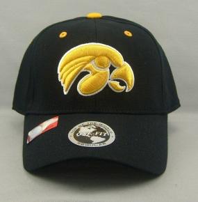Iowa Hawkeyes Black One Fit Hat