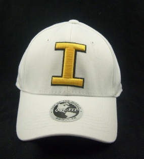 Iowa Hawkeyes White One Fit Hat