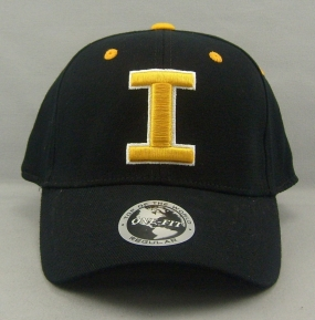 Iowa Hawkeyes Black One Fit Hat