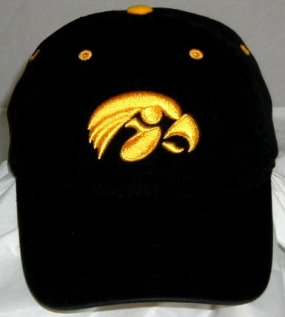 Iowa Hawkeyes Adjustable Crew Hat