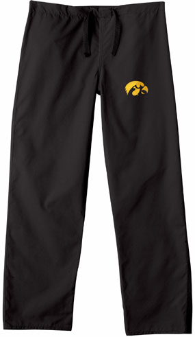 Iowa Hawkeyes Scrub Pants