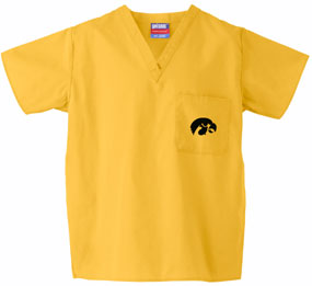 Iowa Hawkeyes Scrub Top
