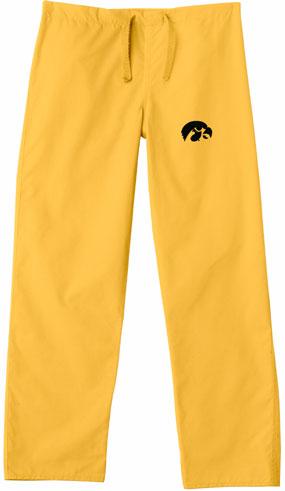 Iowa Hawkeyes Scrub Pants