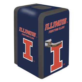 Illinois Fighting Illini Portable Party Refrigerator