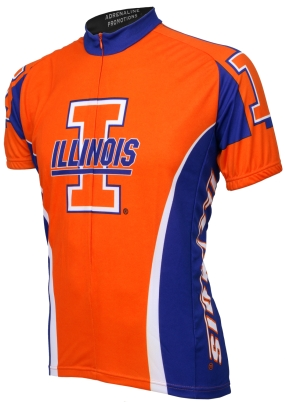 Illinois Fighting Illini Cycling Jersey