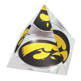 Iowa Hawkeyes Crystal Pyramid