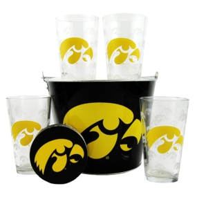 Iowa Hawkeyes Gift Bucket Set