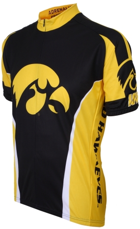 Iowa Hawkeyes Cycling Jersey