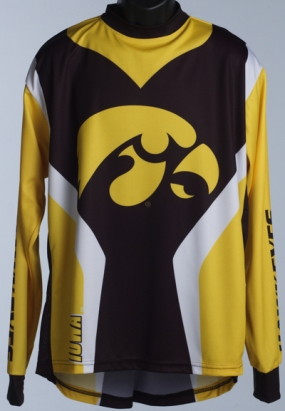 Iowa Hawkeyes Mountain Bike Jersey