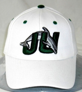 JU Dolphins White One Fit Hat