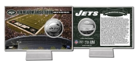 Jet Stadium Silver Coin Card