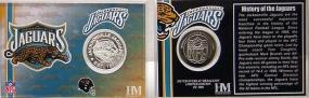 Jacksonville Jaguars Team History Coin Card