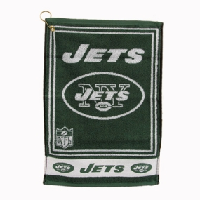 New York Jets Jacquard Golf Towel
