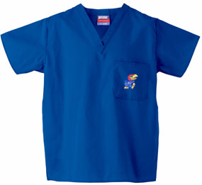 Kansas Jayhawks Scrub Top