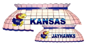Kansas Jayhawks Pool Table Light