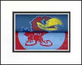 Kansas Jayhawks Vintage T-Shirt Sports Art