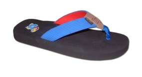 Kansas Jayhawks Flip Flop Sandals
