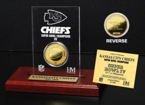 Kansas City Chiefs SB Champs Etched Acrylic