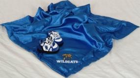 Kentucky Wildcats Baby Blanket and Slippers