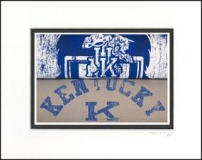 Kentucky Wildcats Vintage T-Shirt Sports Art