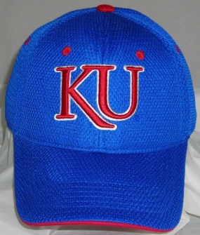 Kansas Jayhawks Elite One Fit Hat