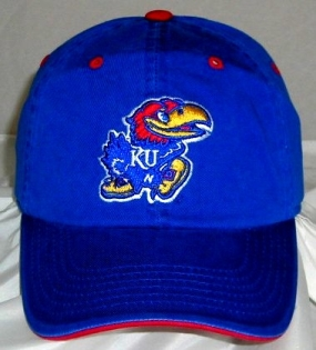 Kansas Jayhawks Adjustable Crew Hat