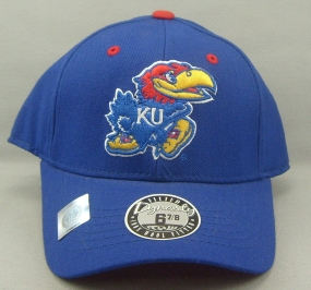 Kansas Jayhawks Dynasty Fitted Hat