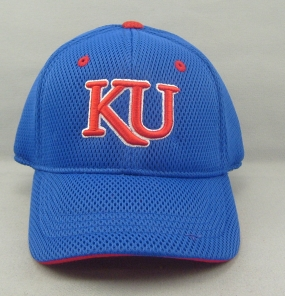 Kansas Jayhawks Youth Elite One Fit Hat
