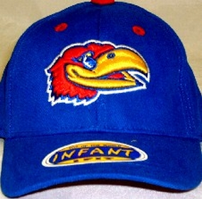 Kansas Jayhawks Infant One Fit Hat