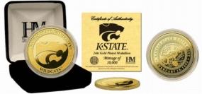 Kansas State Wildcats 24KT Gold Coin