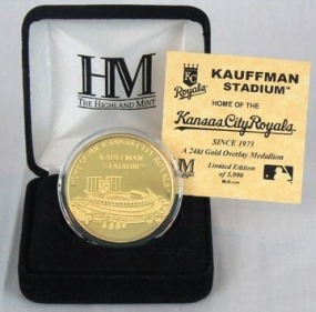Kauffman Stadium 24KT Gold Commemorative Coin