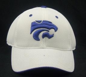 Kansas State Wildcats White Elite One Fit Hat