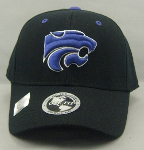 Kansas State Wildcats Black One Fit Hat
