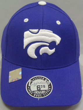 Kansas State Wildcats Dynasty Fitted Hat