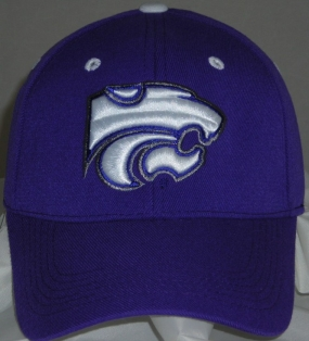 Kansas State Wildcats Team Color One Fit Hat