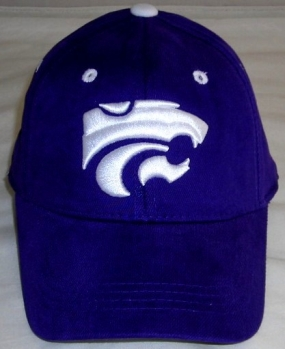 Kansas State Wildcats Youth Team Color One Fit Hat